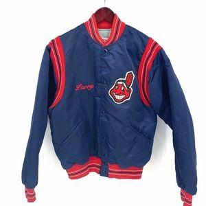 Vintage Cleveland Indians Union Made Jacket Wahoo